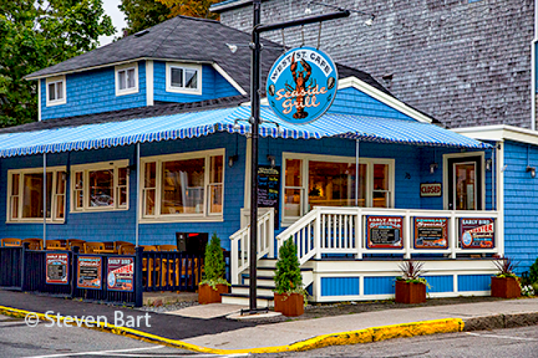 Cafe In Bar Harbor Maine